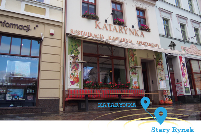 Katarynka Bydgoszcz Restauracja Apartamenty Lodziarnia Przy